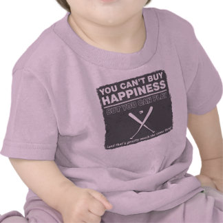 Can t Buy Happiness Baseball Tshirt