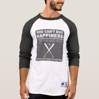 Can t Buy Happiness Baseball T-shirts