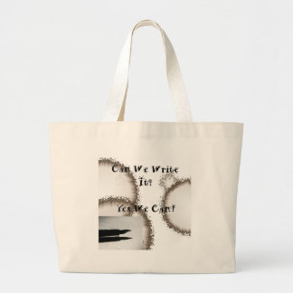 Can We Write It? (Writers Encouragement) Tote Bags