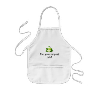 Can you compost this? kids apron