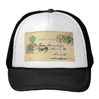 Can you decipher this vintage writing? cap