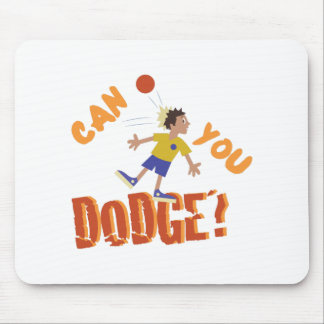 Can You Dodge? Mouse Pad