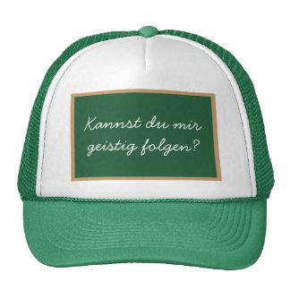 Can you follow me mentally? trucker hats