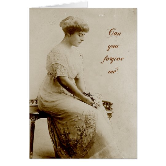 Can You Forgive Me? Card