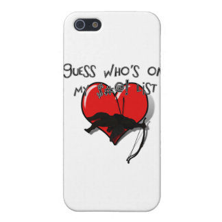 Can you guess who s on my list iPhone 5 cases