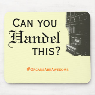 Can You Handel This Mousepad