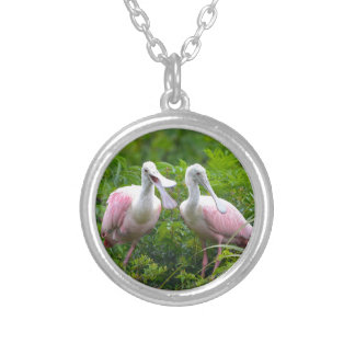 Can You Hear Me Now Silver Plated Necklace