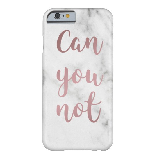 """Can You Not"" iPhone Case"