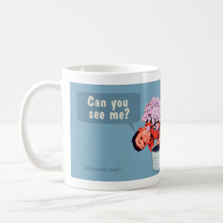 Can you see me? Children are stupid. Basic White Mug