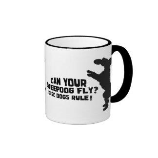 Can Your Sheepdog Fly Mug