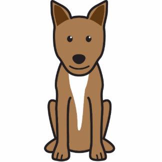Canaan Dog Cartoon Cut Out