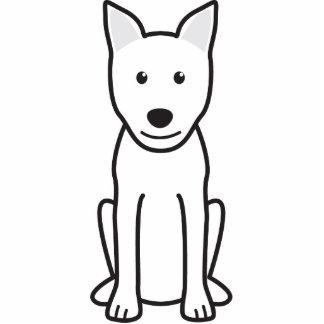 Canaan Dog Cartoon Photo Cutout