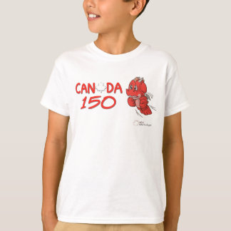 Canada 150 - Anthro SD Dragon Cartoon Kids T-shirt