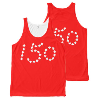 Canada 150 celebration All-Over print tank top