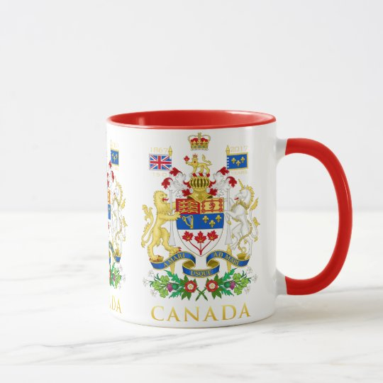 Canada 150 Coat of Arms Mug
