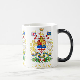 Canada 150 Commemorative Coat of Arms White Magic Mug