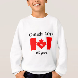 Canada 150 in 2017 Heart Flag Sweatshirt