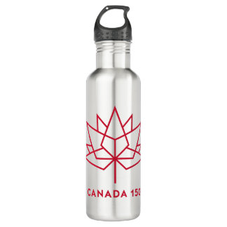 Canada 150 Logo 710 Ml Water Bottle