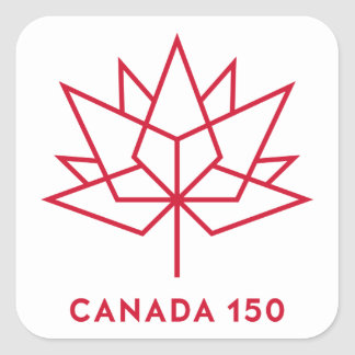Canada 150 Logo Square Sticker