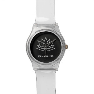 Canada 150 Official Logo - Black and White Watch