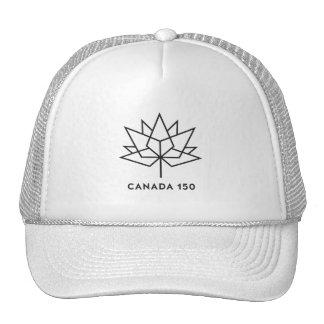 Canada 150 Official Logo - Black Outline Cap