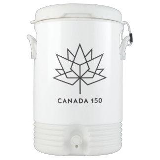 Canada 150 Official Logo - Black Outline Cooler