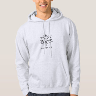 Canada 150 Official Logo - Black Outline Hoodie