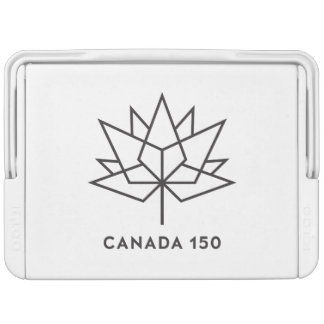 Canada 150 Official Logo - Black Outline Igloo Cool Box