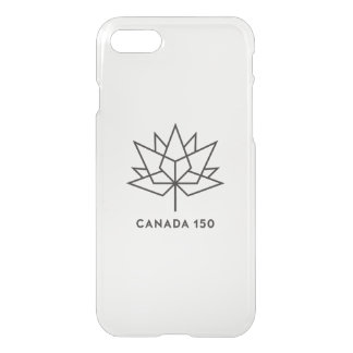 Canada 150 Official Logo - Black Outline iPhone 7 Case