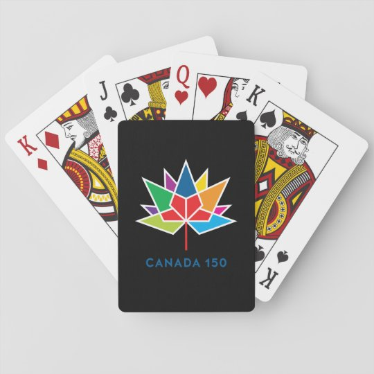 Canada 150 Official Logo - Multicolor and Black