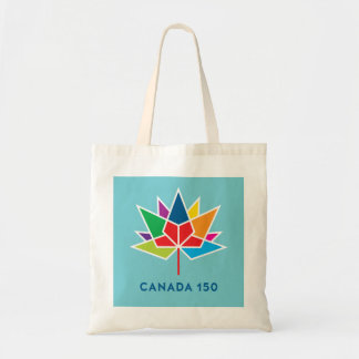 Canada 150 Official Logo - Multicolor and Blue
