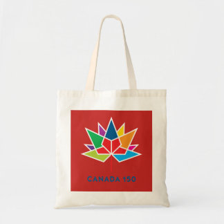 Canada 150 Official Logo - Multicolor and Red