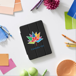 Canada 150 Official Logo - Multicolor and Red iPad Mini Cover