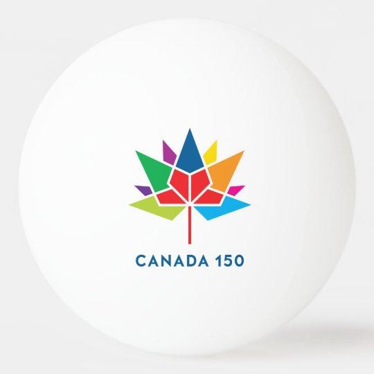 Canada 150 Official Logo - Multicolor Ping Pong
