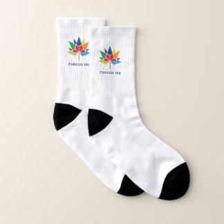 Canada 150 Official Logo - Multicolor Socks