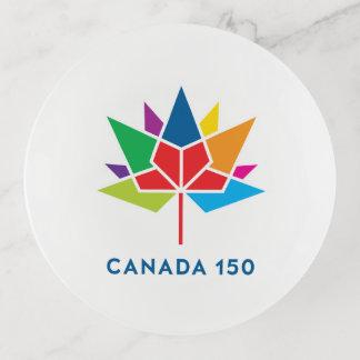 Canada 150 Official Logo - Multicolor Trinket Trays