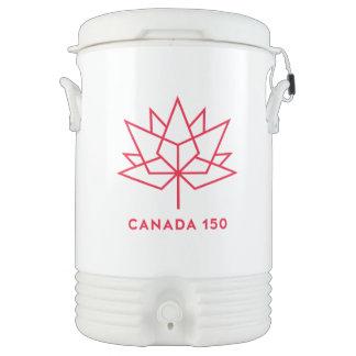 Canada 150 Official Logo - Red Outline Cooler