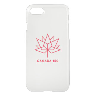 Canada 150 Official Logo - Red Outline iPhone 8/7 Case