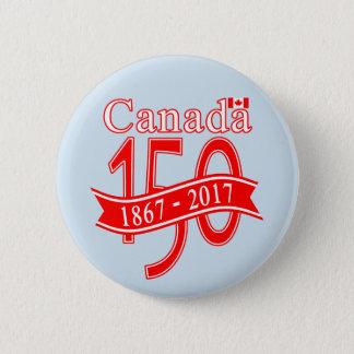 CANADA 150 RIBBON BUTTON