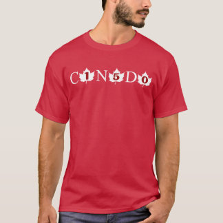 Canada 150 T-shirt (Front & Back Design)