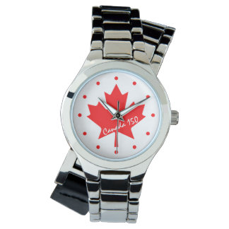 Canada 150 years anniversary one-of-a-kind watch