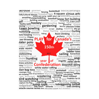 Canada 150th Play List on Canvas