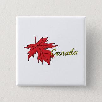 Canada 15 Cm Square Badge