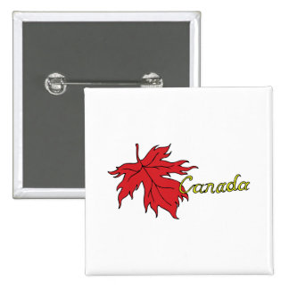Canada 15 Cm Square Badge