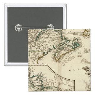 Canada 2 15 cm square badge