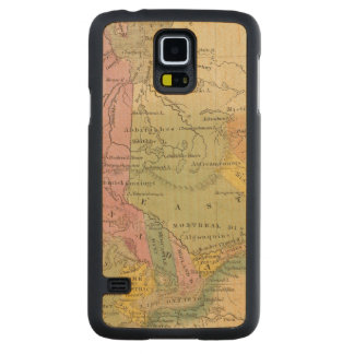 Canada 2 carved maple galaxy s5 case