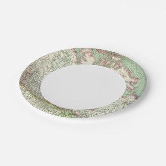 Canada 3 7 inch paper plate