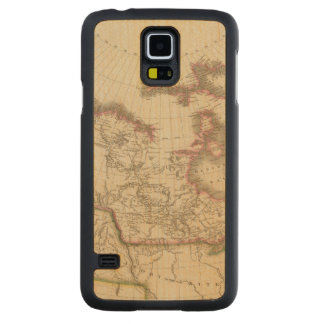 Canada 5 2 carved maple galaxy s5 case