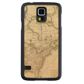 Canada 5 carved maple galaxy s5 case