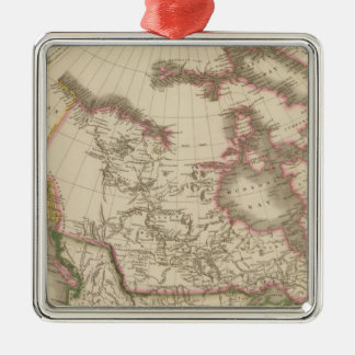 Canada 5 christmas ornament